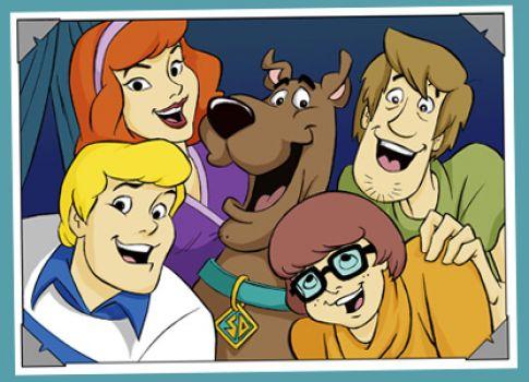 Scooby and the gang - for Rose and many others