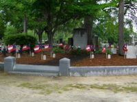 The Hunley gravesite memorial