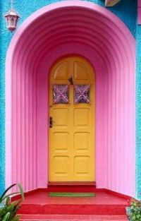 A Door of Many Colors