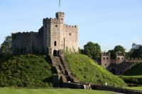Cardiff Castle Keep. Wales
