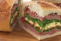 Picnic loaf sandwich