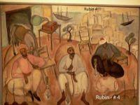 Local Arabs resting, by Israeli artist Reuven Rubin, see below for more