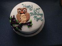 My 65th B-Day cake