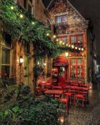 Lovely evening in Brugge, Belgium