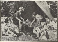 Girl Guide Camp, 1953