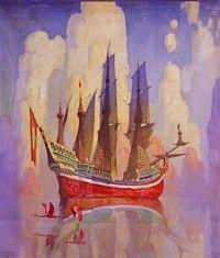The Treasure Ship, c.1923, N. C. Wyeth (1882-1945)
