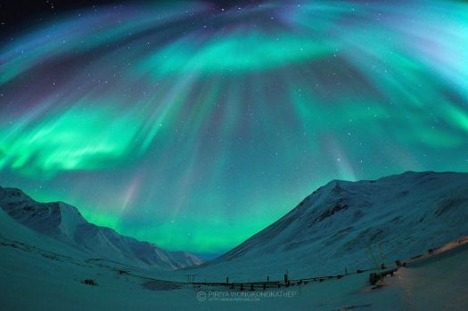 Aurora Borealis at Brooks Range, Alaska by Pete Piriya