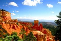 'the hunter' formation at bryce canyon