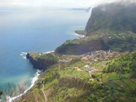 East coast of Madeira
