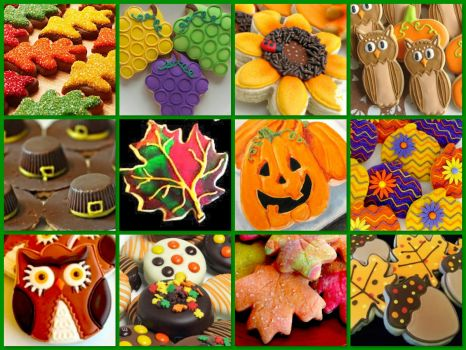 Fall Cookies!   (medium)  **link to small inside