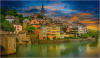 Laufenburg on the Rhine
