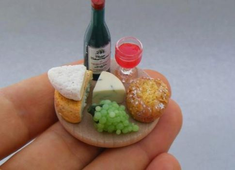 food minis by Shay Aaron of Israel