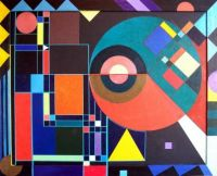 abstract Geometrical Shapes 13