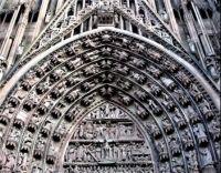Tympanum, Strasbourg Cathedral  (medium)