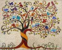 tree of life with birds birds birds