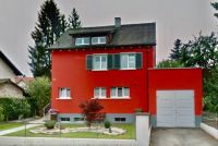Bright Red House