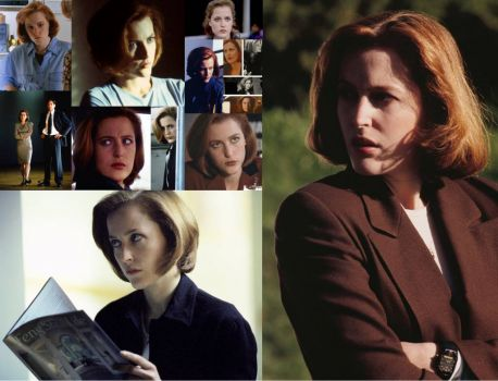 Another Scully collage, featuring her famed
