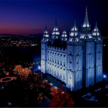 Salt Lake LDS Temple, Photo of the net