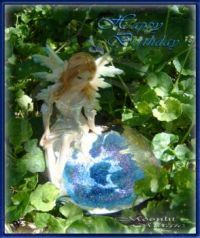 Fairy by the Water E-card (Ex. Small)