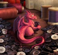 Button Dragon