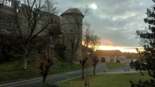 Cheb - Mlýnská věž a Písečná brána