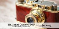 Today Is National Camera Day!!