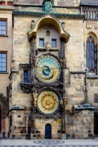 Installed in the year 1410, this 600 year old clock located in the city of Prague is the world's oldest astronomical clock still
