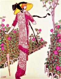 Themes Vintage Illustrations/pictures - Fashion Illustration 1913
