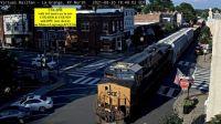 CSX-3098 on Main st; LaGrange,KY/USA