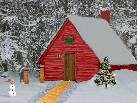 Christmas Tree Cabin