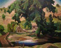 Farm, Halliburton, 1940 by Franklin Carmichael