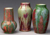 Vases Dedham Pottery, Hugh C. Robertson, ca. 1896–1908