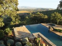 napa pool with view