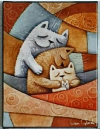LOVELY SLEEPING CATS