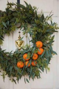 Citrus and Eucalyptus Wreath
