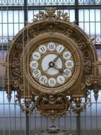 Clock in Musee D'Orsay