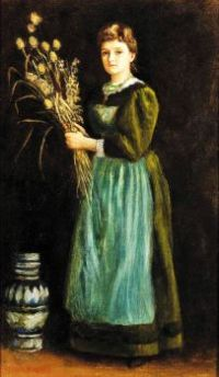 Lucy Hill by Arthur Hughes