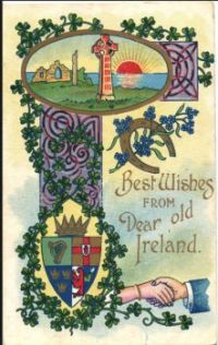Best Wishes from Dear Old Ireland