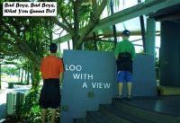 Public Lavs. Sunshine Coast Qld. Australia