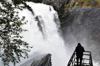 Schwedens höchster Wasserfall 08/2018