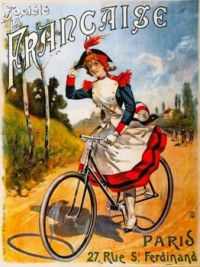 Old bicycle ad
