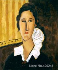 Portrait of Anna Zborovska -  Amedeo Modigliani