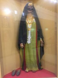 Bridal Gown of young Ajman girl