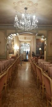 Tea-room in Alassio (Italy)