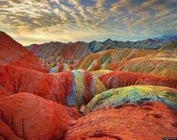 Rainbow Mountains China