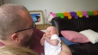 Dot with Uncle Dan
