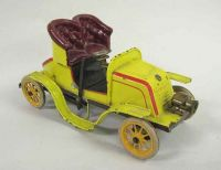 Gebruder Bing De Deon Clockwork Tinplate Car