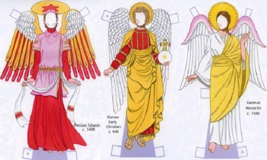 Paper Doll  ~  Angel Robes  V