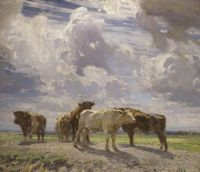 "Sir John Alfred Arnesby Brown R.A., ""Silver Morning"""
