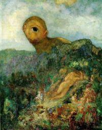 """The Cyclops"" Artist Odilon Redon"